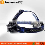 Hot 5000 6000 Lumens Bright Light Zoomable Bike Headlight Flashlight Rechargeable High Power Led Headlamp                                                                                         Most Popular