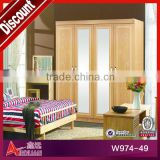 W974 hot selling and economic solid wood closets
