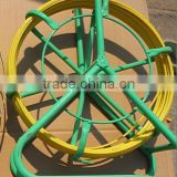 Fiberglass Cable Pulling Rodder With Steel Frame/ Cable pulling rodder with brake in dispenser