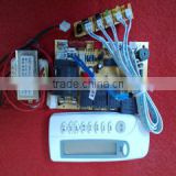 Universal A/C control system fan capacitor type household on-hook air-conditioning control panel