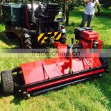 CE approved mini electric start ATV mower for sale