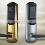 Hot sale Zinc Alloy keyless hotel locks,RFID card locks,can offer you whole system of hotel lock