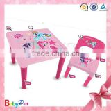 2015 Hot Sale and Cheapest Plastic Folding Table And Chair Kids Folding Table And Chair Set
