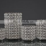 6541 Diamond Crystal T-Light Candle Holder Decorative Candle Votive Suitable For Wedding Decoration Christmas Decoration