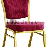 Modern Aluminum Stackable Banquet Chairs comfortable Mould seat Traditional Aluminium Banqueting Furniture
