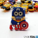PVC Minions Shoe Charms For Fit Croc & Bands Bracelet and Gifts