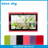 7 inch A33 Quad Core Tablet PC Android 4.4 Dual Cameras WiFi OTG Bluetooth 1024*600 HD Tablet Allwinner A33 1G 8GB