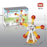 HIQ 88 PCS B/O ferris wheel building block toy education to kids