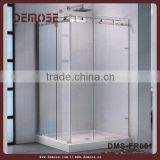 Demose tempered glass air shower clean room / portable shower room