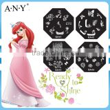 ANY Nail Art DIY Beauty Design QA Customs Nail Art Stamping Plates