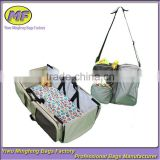 Outdoor foldable crib for baby/Free sample carry foldable baby travel cot bag                                                                         Quality Choice