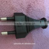 KC approved 2.5A 2 pin 60227IEC52 0.75mm korea power cord