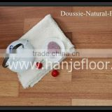 Doussie engineered wood flooring