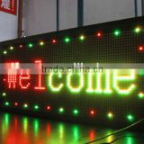 Colombia---Led display board indoor/outdoor used, Tri-color advertising led screen displays message board sign panel