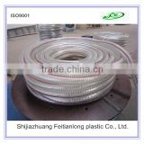 High Quality Durable Flexible Bending High Temperature Resistant Steel Wire Spiral Reinforced PVC Clear Hose