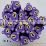 LNU-1015 Polymer clay flower nail cane & fruit canes & nail art decoration