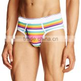 OEM hot sale cotton elastane men sexy briefs in g-string for men new design
