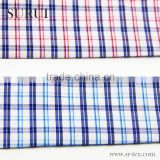 plain bamboo fiber plaid fabric for spring and autumn mens check shirt                                                                         Quality Choice