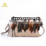 Handmade Purse Bags Ethnic BOHO Handmade Clutch Bags Women Evening Purse Factory                                                                         Quality Choice