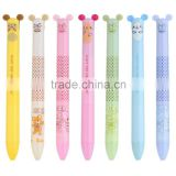 Cute Bear Multi Color Cheap Plastic Promotional Ball Point Pen
