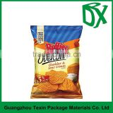 Bulk buy from china supplier custom printed aluminum foil plastic potato chip bags back sealed