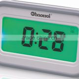 Color Changing Display LCD Clock with Calendar