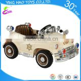 classic power police 6V battery powered ride on car for kids play
