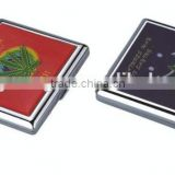 20pcs set of metal cigarette box cigarette holder with customized finish