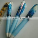 Stationery promotional gift plastic pen removable ink pen
