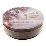 custom cookie tin boxes packaging,alibaba wholesale cookie jars,round collectable biscuit tins