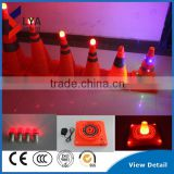2016 LED Light traffic Sign Safety Plastic LED Traffic Light Cone At Night Road Hot Selling