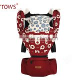SGS CE Approved Adjustable Ergonomic Baby Backpack Carrier 100% Organic Cotton Polyster/Baby Doll Carrier Seat