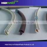 Sound proof extruded rubber seals strip for door and window
