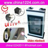 2013 New services cleaning products for new business!! -Automatic wet umbrella wrapping machine with TFT LCD Ad board