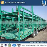 China new 3 axles small car trailer, car transport trailer, car carrier trailer