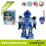 Hot Sale 2CH RC Walking Robot Toys with Light & Music Best Kids Toys for Boy Toys 566-117