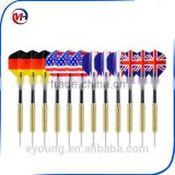 12pcs vs phoenix Tip Darts with National Flag Flights Stainless Steel Needle Dart with 3 Free PVC Dart Rods