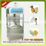 high efficient automatic electric pineapple peeling machine pawpaw skin removing machine taro peeler