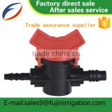 Worm gear butterfly good quality PPR pipe fittings stop mini agricultural irrigation valves