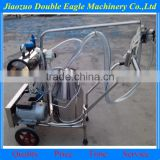 movable vacuum pump good quality goat milking machine for sale / cheap milking machine for sale