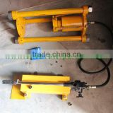Hand power hydraulic Master Pin Press for track link group