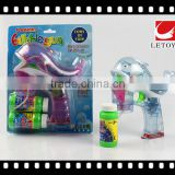 wholesale musical summer toys plastic LED light bubble gun