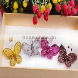 Wholesale Cheap Decorative Refrigerator Magnet Mesh Butterfly Accessories