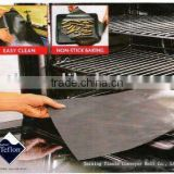 PTFE Reuseable non-stick black Oven Liner