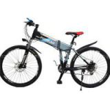 26 Inches High Configuration Hydraulic Disc Brake Exercise Electric Folding Mountain Bikes