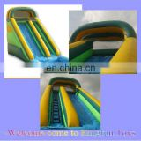 20H feet inflatable wet/dry slide