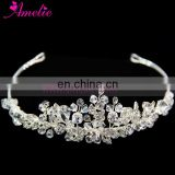 Bridal Crystal Jewelry Necklace Earring And Tiara 3Pcs Set Wedding Decoration Women Accessories
