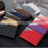 high quality leather business credit card holder