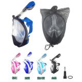 Full Face Snorkel Mask Dry Diving Ce FDA Best Selling on Amazon