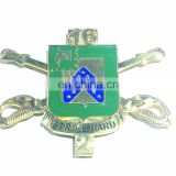 3D custom military Shield medal coin ribbons